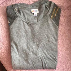 Lularoe 3/4 sleeve shirt